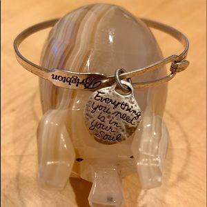 Brighton Jewelry - Brighton Dove Art & Soul Bangle